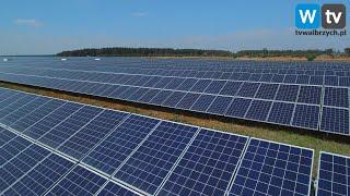 Telewizja Wałbrzych - MZUK stawia na energię słoneczną