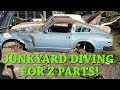Datsun 280Z Ep.23 (Cylinder) Head Hunting! Junkyards and Craigslist