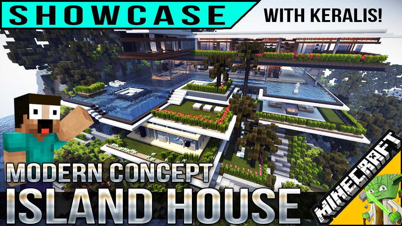 Xalima minecraft island house showcase - xalima tour with keralis - youtube