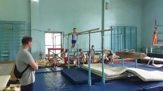 Арефьев Егор 1.06.17 брусья