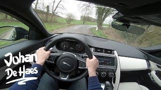 Jaguar E-PACE R-DYNAMIC P300 AWD HSE 300 HP POV Test drive