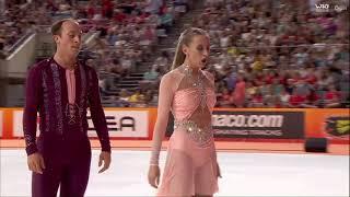 Silvia Stibilj Andre Bassi - Free Dance - couple dance - world roller games barcelona 2019