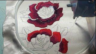 طرزة ثلاثية الأبعاد بالماكينة=Embroidery 3D