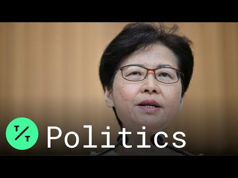 Hong Kong Leader Carrie Lam Defends Police Actions in Protests