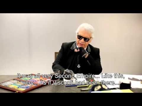 The exclusive interview of Fendi by Karl Lagerfeld