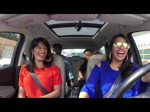 Abish Matthew and Zakir Khan's Car Interview with Karishma and Malavika: Part 2