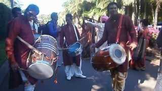 the dhol blasters.mu ( Bollywood wedding in Mauritius)
