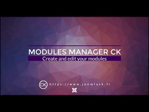 Module Manager CK for Joomla thumbnail