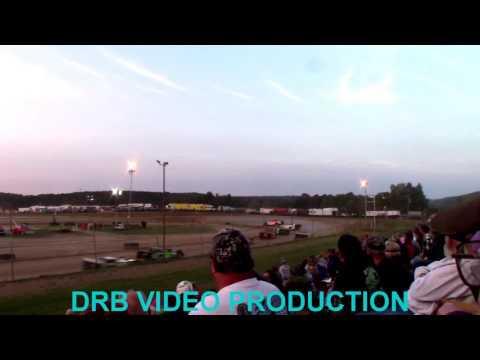 Marion Center Speedway 8/5/17 Super Late & Steel Block Heat 3 OF 4