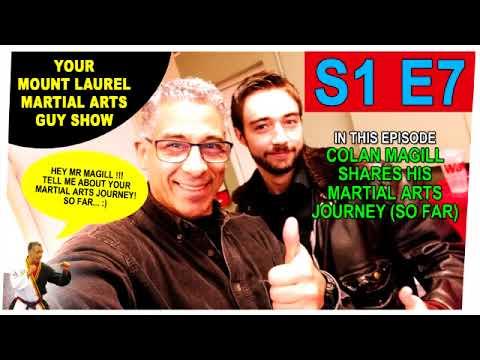 Your Mount Laurel Martial Arts Guy Show - Episode 7 - Colan Magill's Training