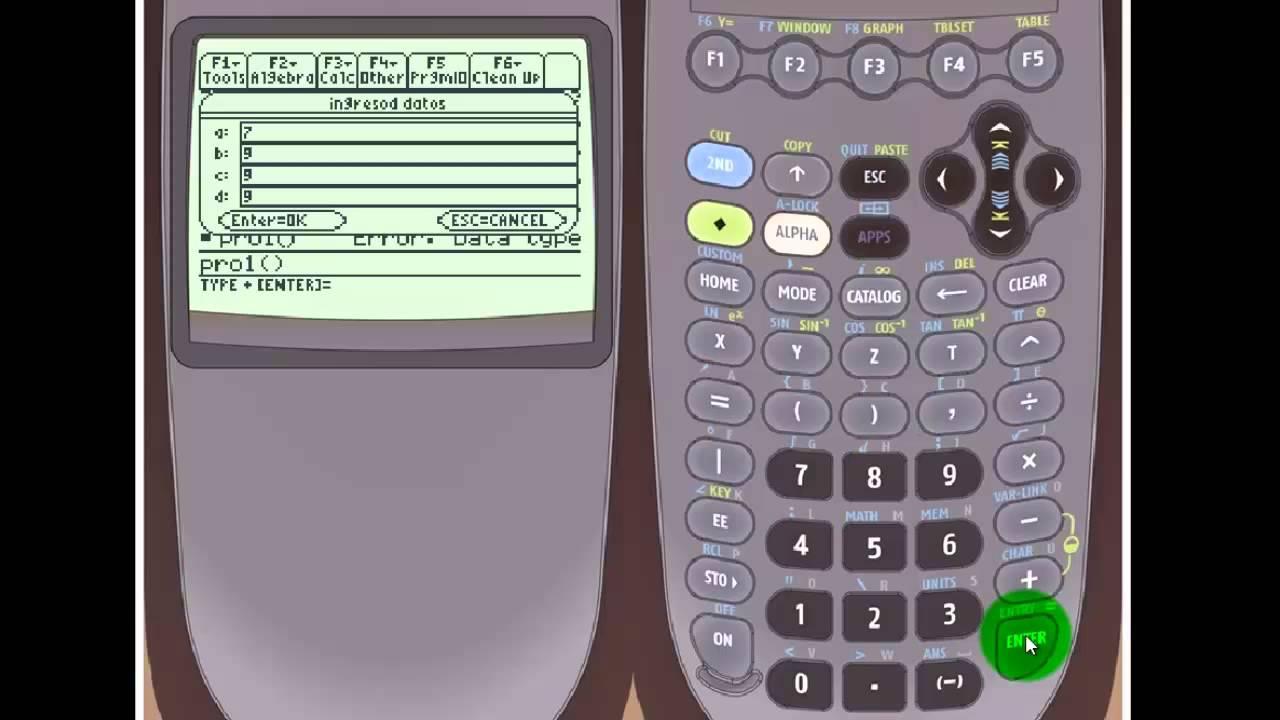 ti 89 titanium programando la ti 89 titanium 01 youtube rh youtube com TI- 92 Calculator manual calculadora ti-89 titanium español