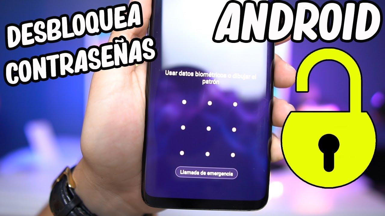 Eliminar el patrón, el PIN y la contraseña de la pantalla de bloqueo de Cualquier Android 2020