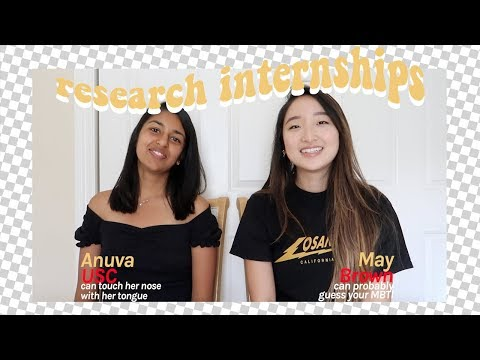 How to Find Research Internships | BEING PRE-MED