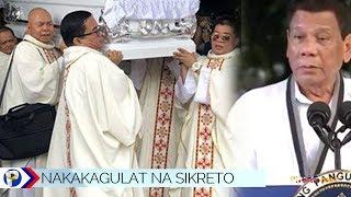 Matinding pagbubunyag ni Duterte sa isang paring Katolika