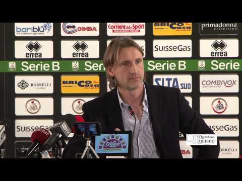 QI  Fc Bari, presentazione mister Davide Nicola