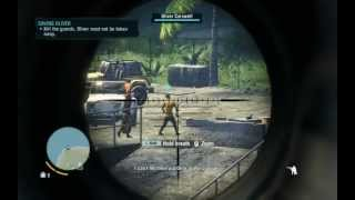Far Cry 3   Sniper sniping mission (Rescue Oliver)