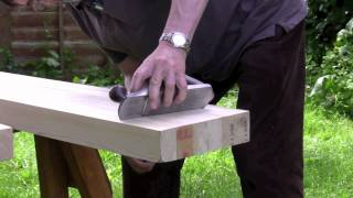 How to build a workbench - (Part 2) Planing and preparing the top - with Paul Sellers
