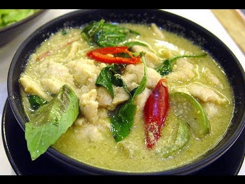 Chicken in Thai Green Curry - YouTube