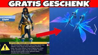 Fortnite: gives us the Arcana glider because of bugs at Loot Lake liveevent!!