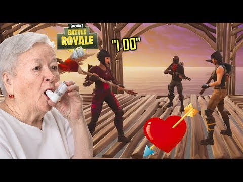 *EMOTIONAL* MARRYING A GRANDMA ON FORTNITE - THE SADDEST LOVE STORY ON FORTNITE PART 6