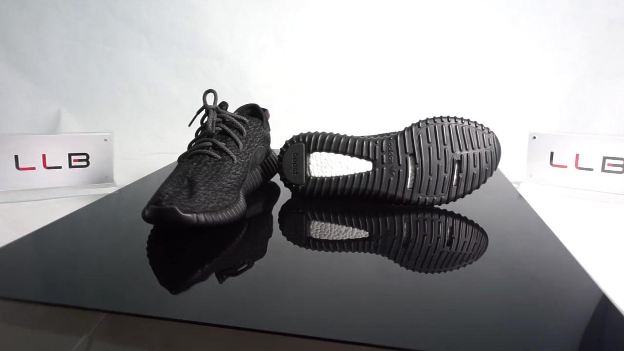 Adidas Yeezy Boost 350 Pirate Black 360 Degree View  fdff2bcc6