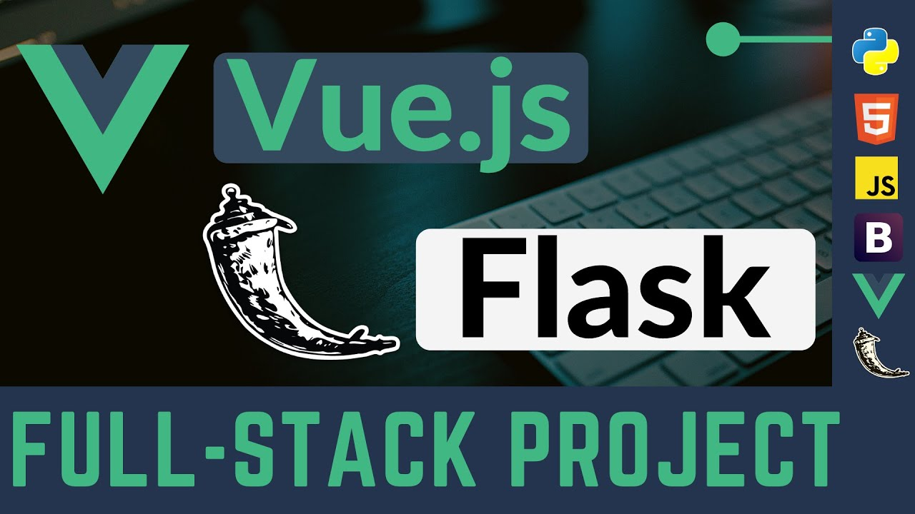 Full Stack Project with Vue.js and Flask (Games Library App)
