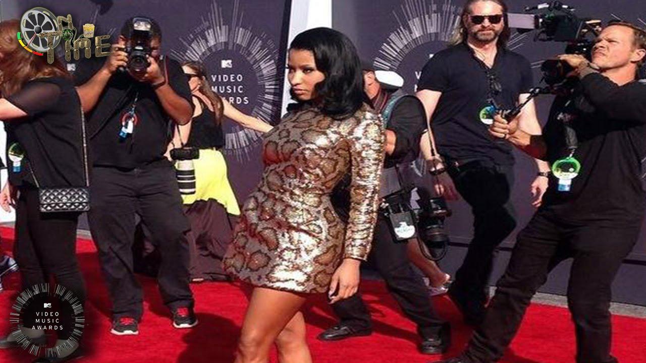 Nicki Minaj At Red Carpet Mtv Vmas 2014 Mtv Video Music Awards 2014 Ontime Youtube