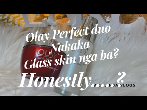 Olay perfect duo Honest Review | Yung totoo nakaka Glass skin nga ba? | Earl Linda