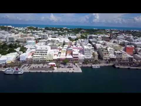 City of Hamilton, Bermuda - Buzz - footage from August 2017