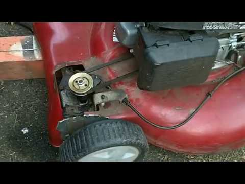 Wheels Locked Up Self Propelled Lawn Mower Fix