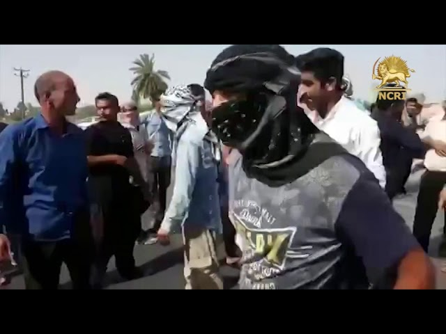 AHVAZ, Iran, June 10, 2018. Protest assembly of the Farmers