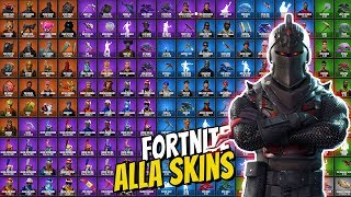 REACTS TO ALL SKINS IN FORTNITE * AS MANY AS I DID NOT KNOW *