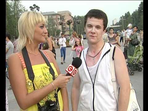 Танцевальный флэш-моб. Нижневартовск 24.06.2012