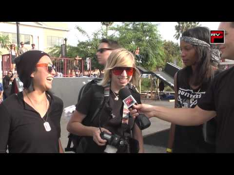 2012 The Blading Cup - Interview with The BLadies