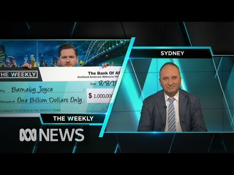"Charlie Pickering asks Barnaby Joyce the question we're wondering - ""Why?"""