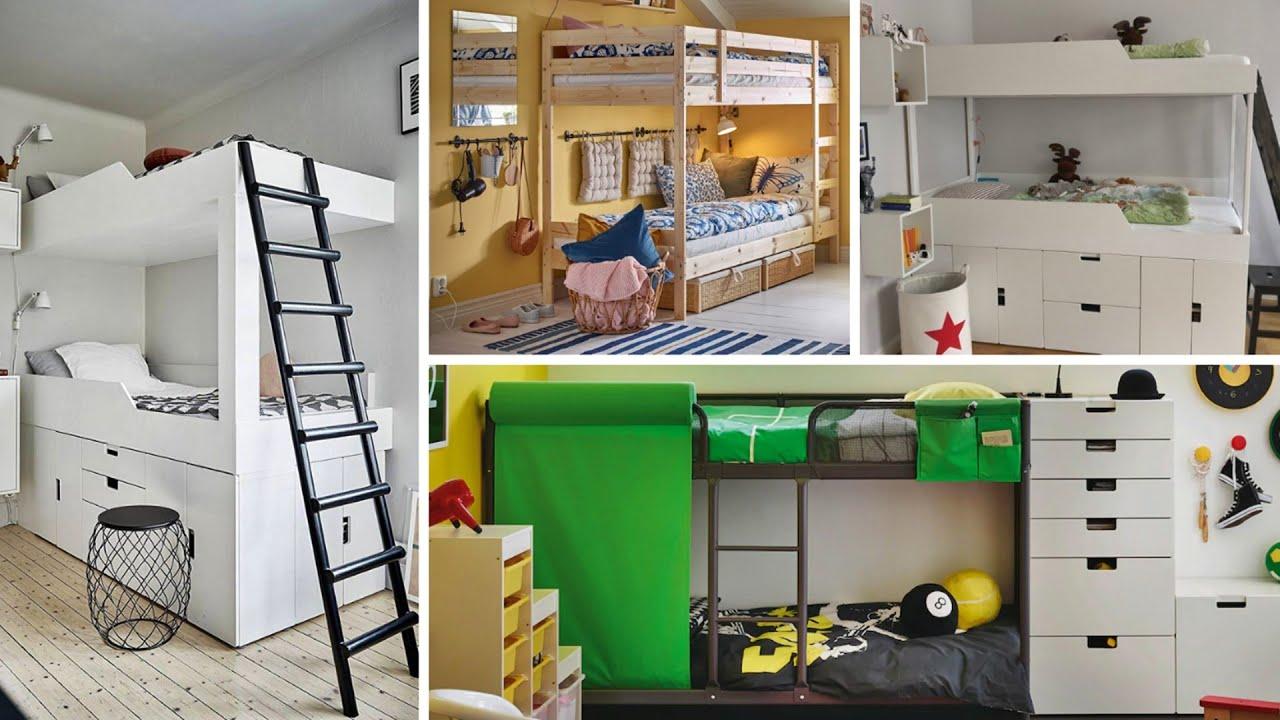 10 Brilliant Space Saving Bunk Beds Ikea Youtube