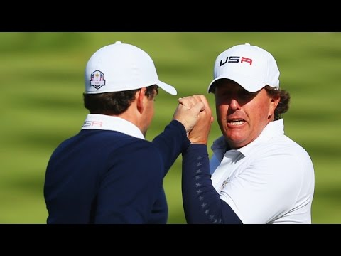Ryder Cup 2014: Mickelson, Bradley Give Hope to U.S.