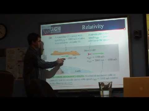 CAASTRO in the Classroom: Special Relativity