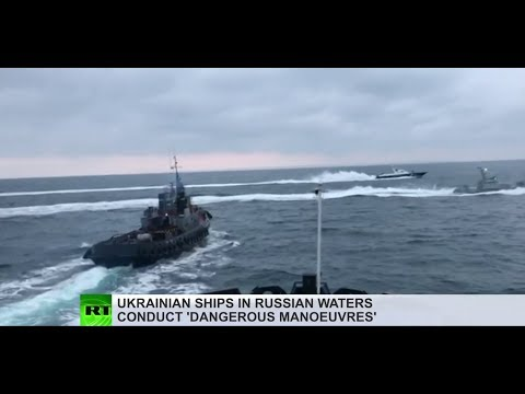 'Deliberate provocation': Ukrainian navy ships violate Russi
