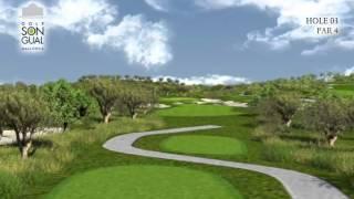 Hole 3 Golf Son Gual Mallorca