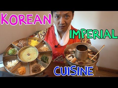 Thumbnail: 9 Course TRADITIONAL Korean ROYAL Cuisine (What Korean Emperors Ate)
