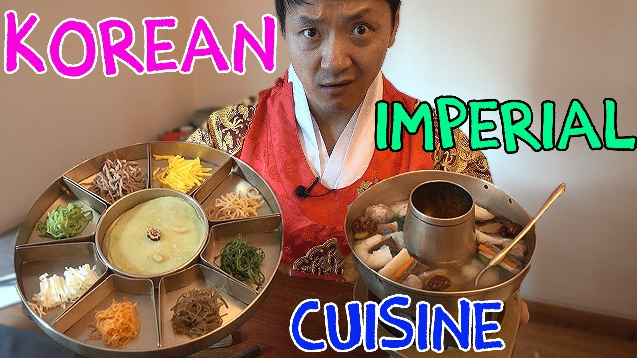 Cuisine Royale Eat Food 9 Course Traditional Korean Royal Cuisine What Korean Emperors Ate