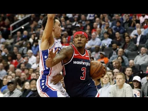 Bradley Beal 34 Pts! Dominates 4th vs 76ers! 2018-19 NBA Season