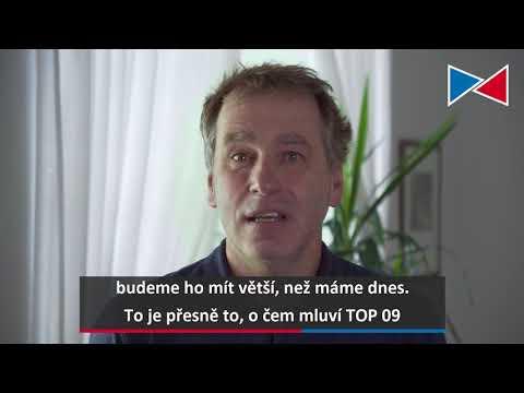 Luděk Niedermayer bude volit TOP 09