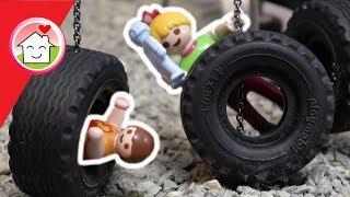 Playmobil Film deutsch - Auf dem Bewegungsspielplatz - Geschichten für Kinder - Familie Hauser