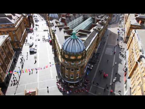 Involving citizens in shaping their future city – Newcastle City Futures