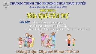 HTTL BẾN TRE - Chương trình thờ phượng Chúa - 15/08/2021
