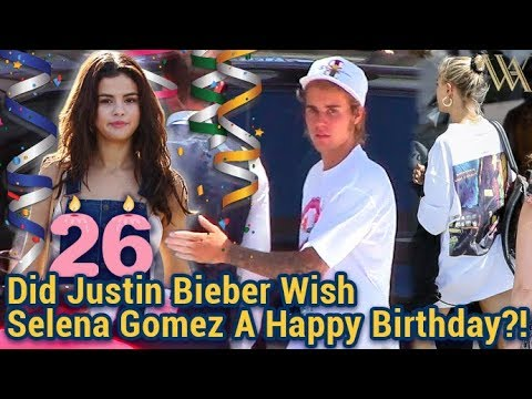 EXCLUSIVE - We Asked Newly Engaged Justin Bieber If He Wished Ex Selena Gomez A Happy Birthday