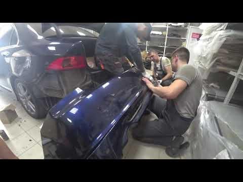 Honda Accord 7 замена штатных линз и установка обвеса