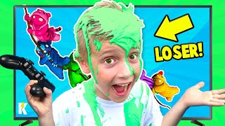 Loser Gets Slimed! Gaming with Consequences (GANG BEASTS Edition) KIDCITY